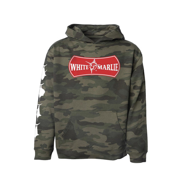 Hoodie Youth in Camo by White Marlie