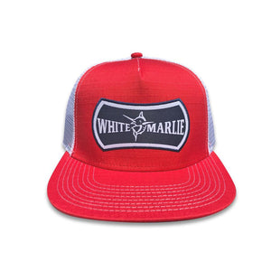 Youth Fire Red White Marlie Hat