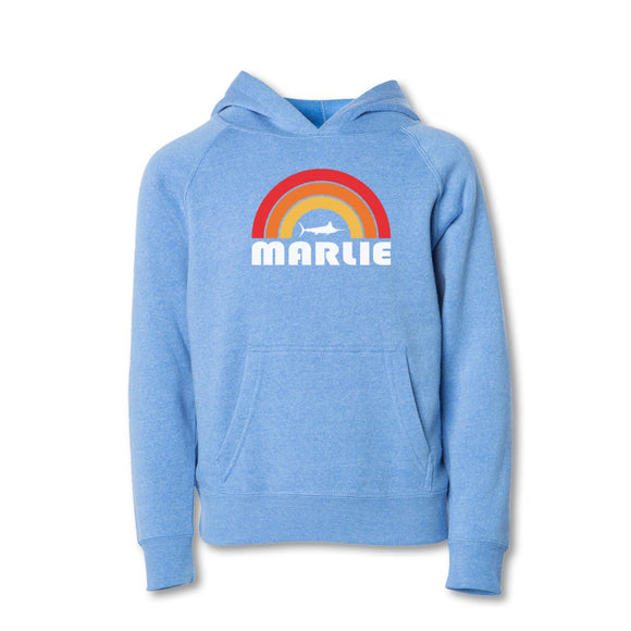 Youth Light Blue Marlie Sun Sweatshirt