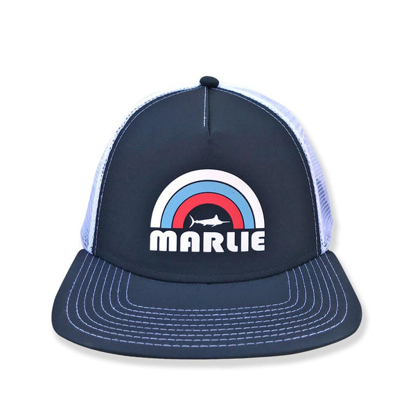 Youth Navy Marlie Sun Trucker