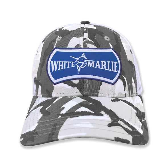 Youth Snow Camo Hat