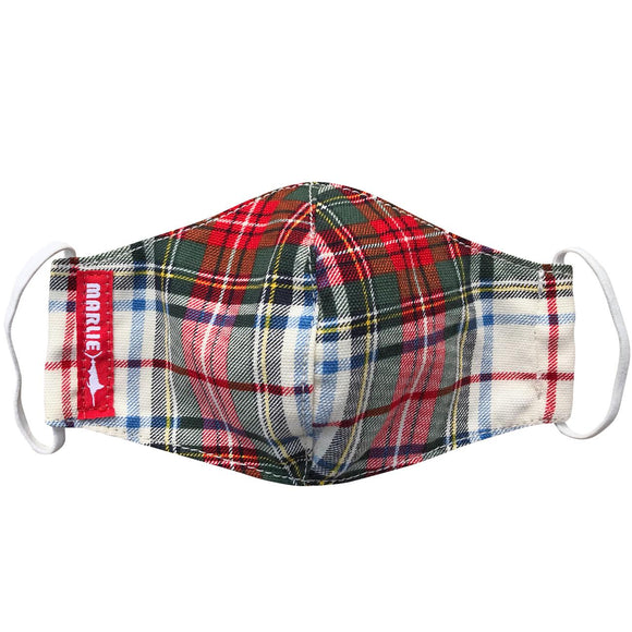 Youth Tartan Plaid Mask