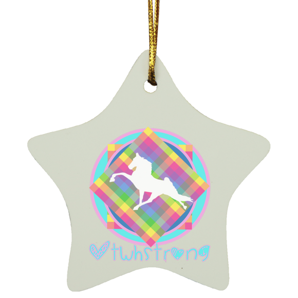 #TWHstrong 3 SUBORNS Star Ornament