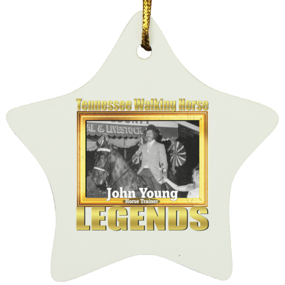 JOHN YOUNG (Legends Series) SUBORNS Star Ornament