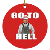 GOTOHELL SUBORNC Circle Ornament