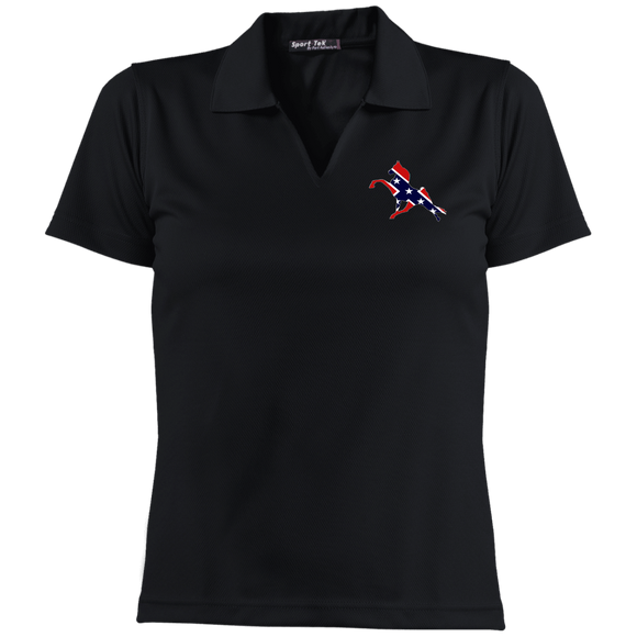 Rebel on The Rail L469 Ladies' Dri-Mesh Short Sleeve Polo