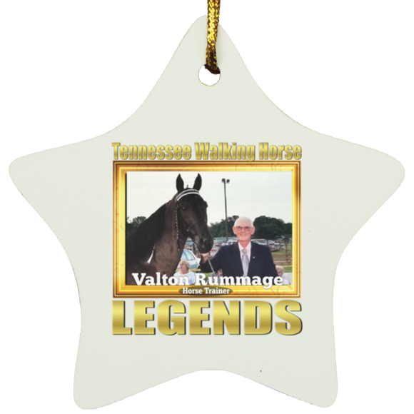 VALTON RUMMAGE (Legends Series) SUBORNS Star Ornament