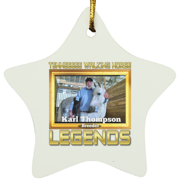 KARL THOMPSON (Legends Series) SUBORNS Star Ornament