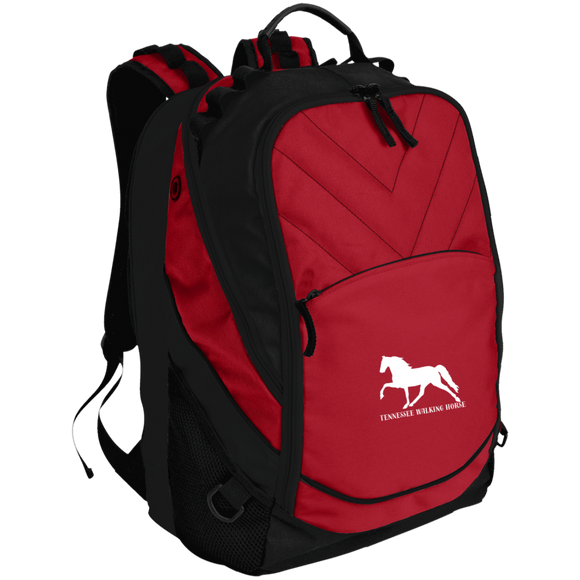 Tennessee Walking Horse (Pleasure) with letters BG100 Laptop Computer Backpack