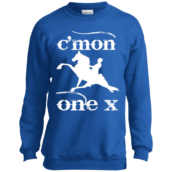 Cmon One X PC90Y Port and Co. Youth Crewneck Sweatshirt