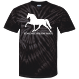 Tennessee Walking Horse (Pleasure) with letters CD100Y Youth Tie Dye T-Shirt