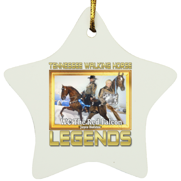 THE RED FALCON(Legends Series) SUBORNS Star Ornament