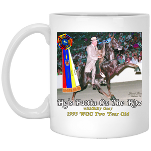 WGC HES PUTTIN ON THE RITZ (Billy Gray) XP8434 11 oz. White Mug