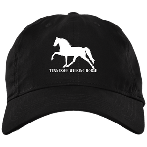 Tennessee Walking Horse (Pleasure) with letters BX001 Brushed Twill Unstructured Dad Cap