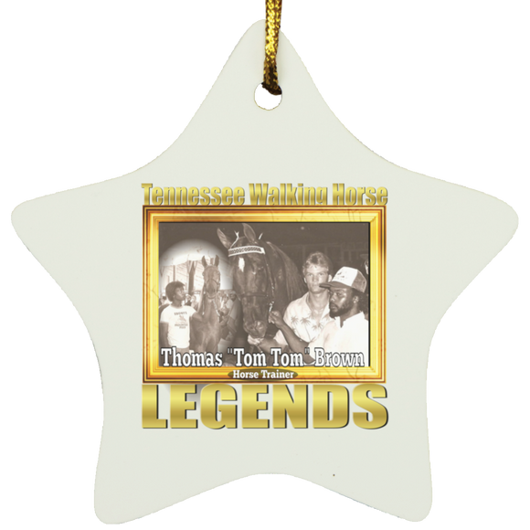 THOMAS BROWN (Legends Series) SUBORNS Star Ornament