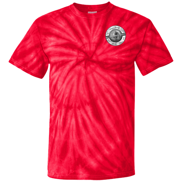 WALKINGHORSE.VIDEO CD100 100% Cotton Tie Dye T-Shirt