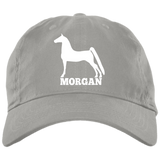 Morgan BX001 Brushed Twill Unstructured Dad Cap