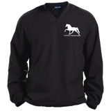 Tennessee Walking Horse (Pleasure) with letters JST72 Sport-Tek Pullover V-Neck Windshirt