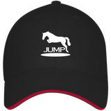 Jump II 3621 USA Made Structured Twill Cap With Sandwich Visor