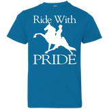 RIDE WITH PRIDE 6101 Youth Jersey T-Shirt