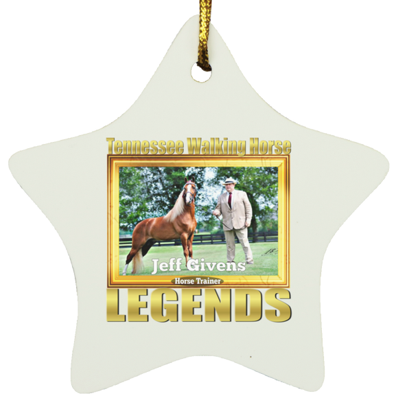 JEFF GIVENS (Legends Series) SUBORNS Star Ornament