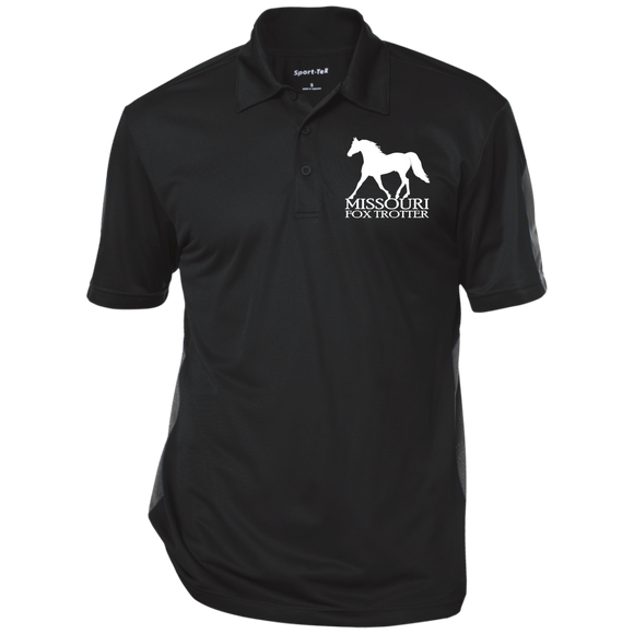 Missouri Fox Trotter ST695 Performance Textured Three-Button Polo