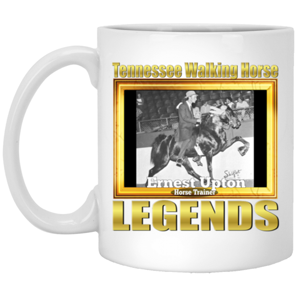 ERNEST UPTON (Legends Series) XP8434 11 oz. White Mug