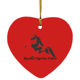 SPOTTED SADDLE WINE 2020 SUBORNH Heart Ornament