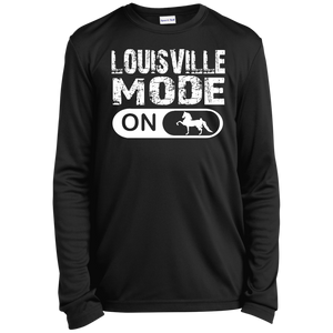 LOUISVILLE MODE final 782017 YST350LS Youth Long Sleeve Moisture-Wicking T-Shirt