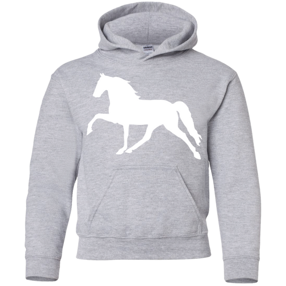 Tennessee Walking Horse (Pleasure) G185B Gildan Youth Pullover Hoodie