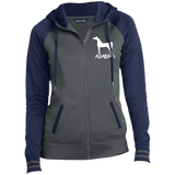 Arabian LST236 Sport-Tek Ladies' Sport-Wick® Full-Zip Hooded Jacket