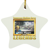 BILLIE NIPPER (Legends Series) SUBORNS Star Ornament