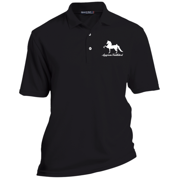 American Saddlebred Design 2 TK469 Sport-Tek Tall Dri-Mesh Short Sleeve Polo