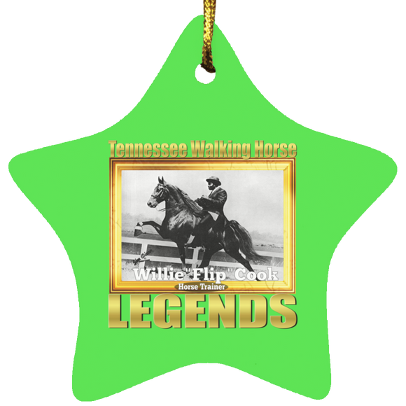 WILLIE FLIP COOK (Legends Series) SUBORNS Star Ornament