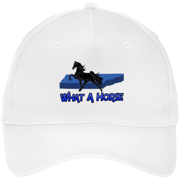 What A Horse 2020 CP86 Five Panel Twill Cap