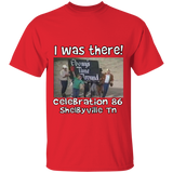 I WAS THERE CELEBRATION 86 G500 5.3 oz. T-Shirt