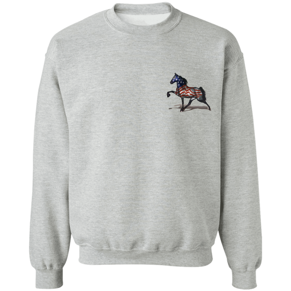 THE ALL AMERICAN HORSE Z65 Crewneck Pullover Sweatshirt