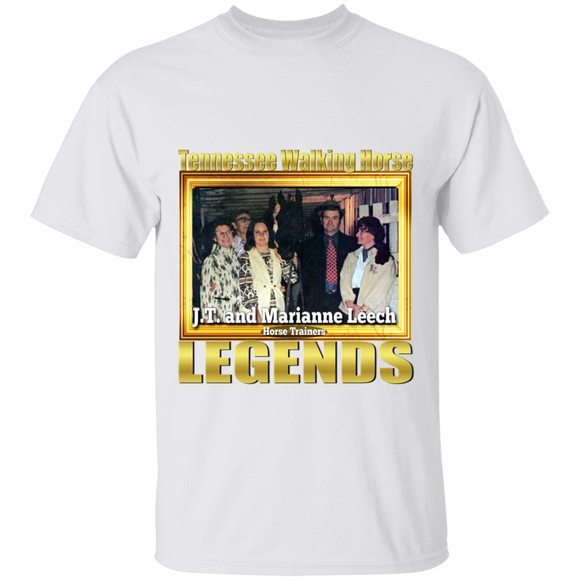 JT AND MARIANNE LEECH (Legends Series) G500 5.3 oz. T-Shirt