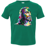 JESUS (multi color) 3321 Toddler Jersey T-Shirt