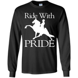 RIDE WITH PRIDE G240B Youth LS T-Shirt