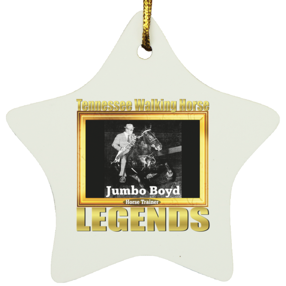 JUMBO BOYD (Legends Series) SUBORNS Star Ornament