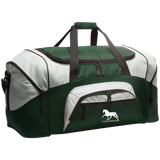Tennessee Walking Horse (Pleasure) with letters BG99 Colorblock Sport Duffel
