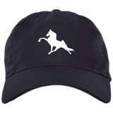 Tennessee Walking Horse (Performance) BX001 Brushed Twill Unstructured Dad Cap