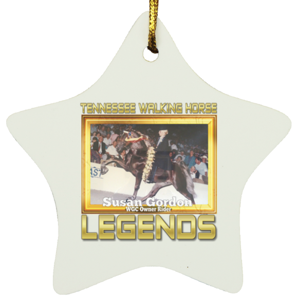 SUSAN GORDON (Legends Series) SUBORNS Star Ornament
