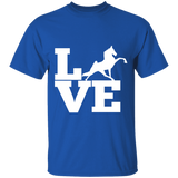 Love (TWH Performance) G500 Gildan 5.3 oz. T-Shirt