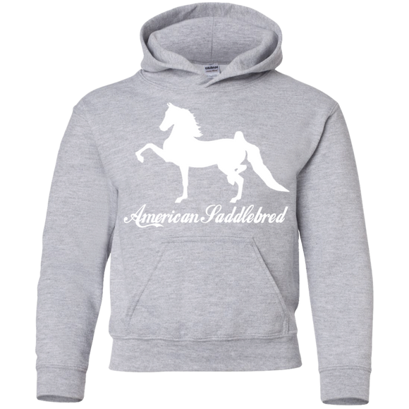 American Saddlebred Design 2 G185B Gildan Youth Pullover Hoodie