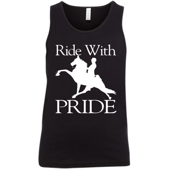 RIDE WITH PRIDE 3480Y Youth Jersey Tank
