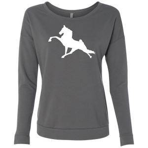 Tennessee Walking Horse (Performance) NL6931 Next Level Ladies' French Terry Scoop