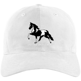 SPOTTED SADDLE HORSE A12 Unstructured Cresting Cap
