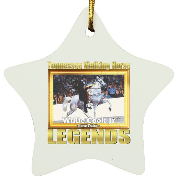 WILLIE COOK JR (Legends Series) SUBORNS Star Ornament
